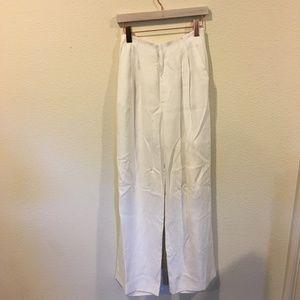 Chelsea28 Pants - Chelsea 28 white wide leg pants
